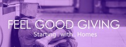 feel good giving banner