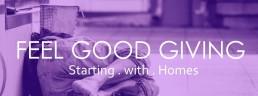 feel good giving banner