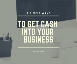 Get cash into your business